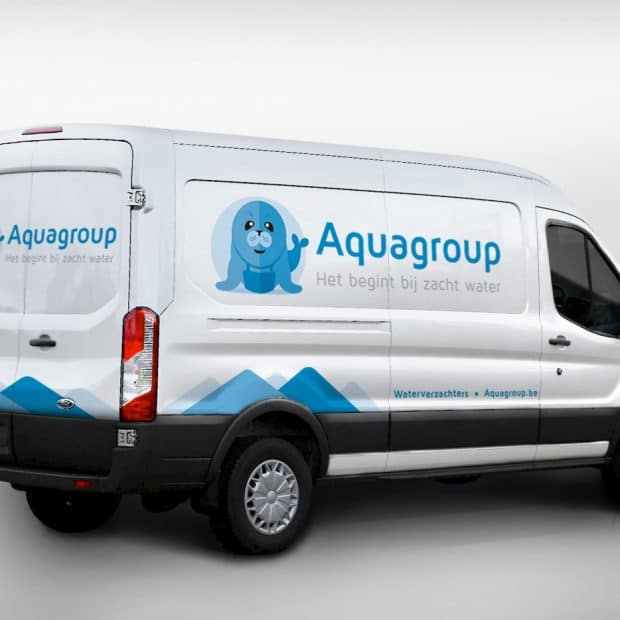 Aquagroup bestickering