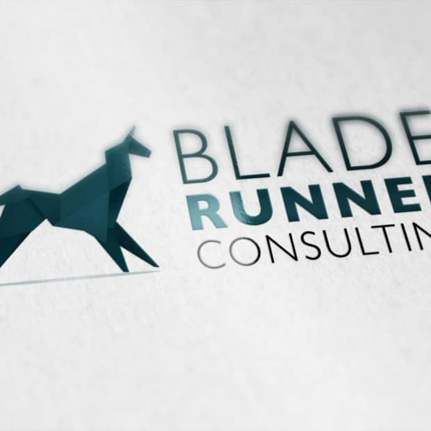 Blade Runner logo design by Quindi