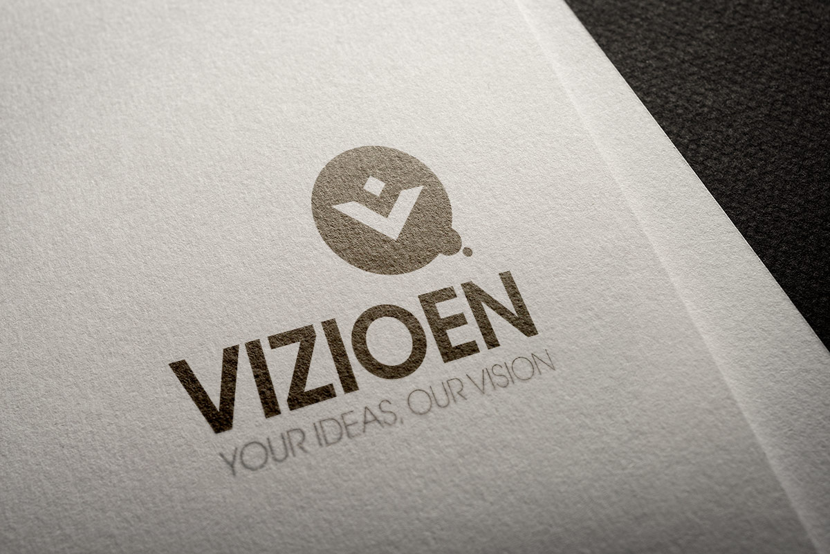 Vizioen logo design by Quindi